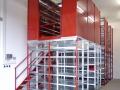 Hochregale verzinkt/rot von Bauer Lagertechnik
