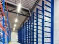 Lagerregal für lange Güter zur liegenden Lagerung auf Kragarmen