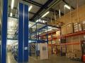 Hochregal-Anlage für Paletten und kleine Güter